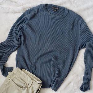 Banana Republic crew neck sweater, blue/gray, XXL